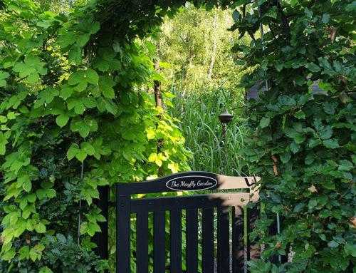 Trädgårdsbesök i Ålstorp