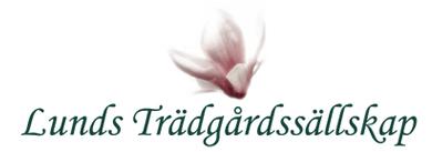 Lunds trädgårdssällskap Logotyp